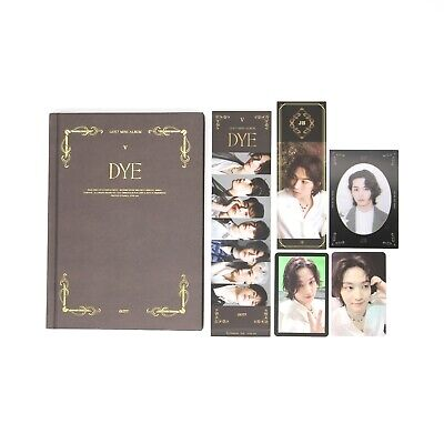 [GOT7] Mini Album / DYE / Not By The Moon / Ver. 5 (E) Album + 2 JB pcs