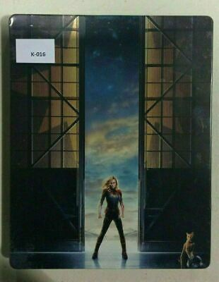 Captain Marvel - Limited Edition Steelbook [4K UHD - Bluray] AS IS!! K-016