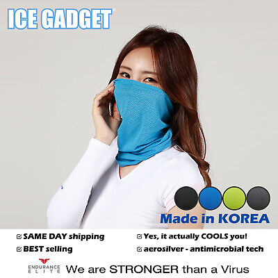 Cooling Neck Gaiter Mask Tube Scarf-Cycling Fishing Running Hunting Motorcycle