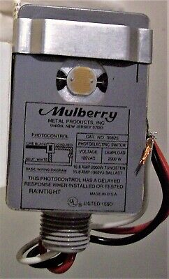 Mulberry Photo Control Model AT-15 NEW IN BOX