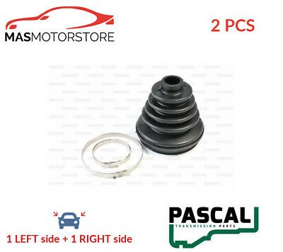 Left 01 to 07 C.V. CV Joint Boot Kit fits NISSAN X-TRAIL T30 2.2D Front Inner