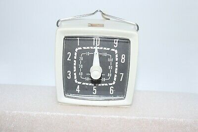 Vintage General Electric Darkroom Mechanical Timer
