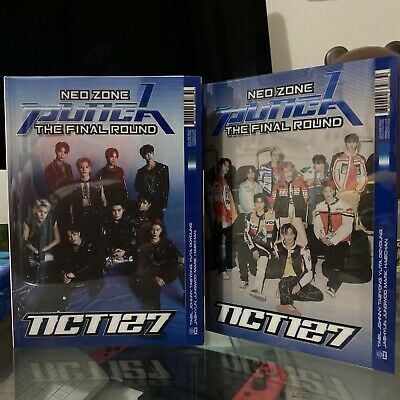 NCT 127 - Neo Zone: The Final Round Repackage Unsealed Random Version w postcard