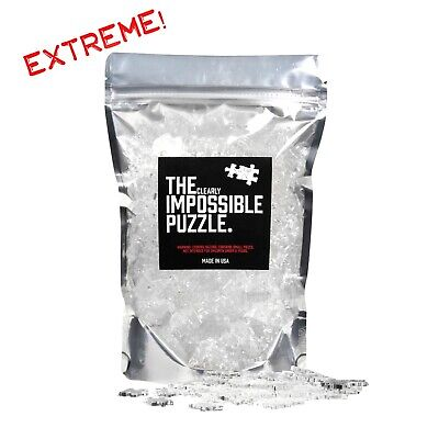 Quarantine Clear Impossible EXTREME Jigsaw Puzzle Acrylic 500 PIECES!!