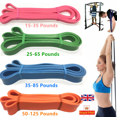 Heavy Duty Resistance Bands Pull Up Assisted Loop Power Bands Fitness Exercise