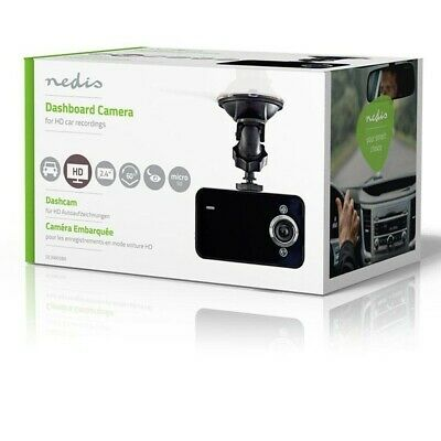 Nedis HD 720 P Dashcam Black