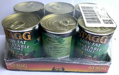 Stagg Low Fat Vegetable Chilli High Protein - Mixed Can Chili Beans October 2022