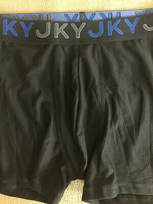 M 32-34 JKY Mesh Mens Jockey 2nd Skin No Fly Pouch Contour All Mesh Boxer Brief