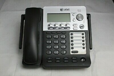 AT&T SynJ SB67138 4 Line Business Office DeskSet Phone With Handset