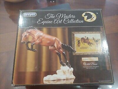 Breyer Model Horses Artist Quality Resin Masters of Equine Art Wild Bronc