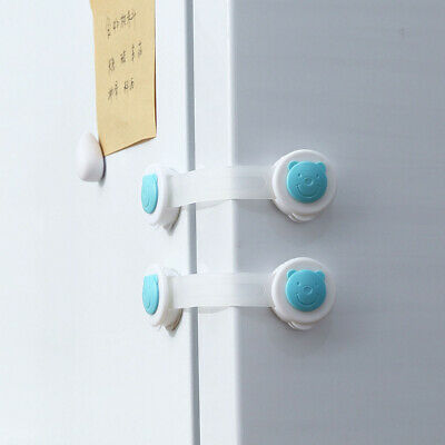 Child Baby Safety Lock Drawer Cupboard Security Lock Baby Refrigerator