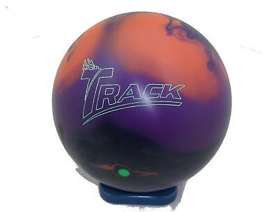 15lb Track Alias Tenpin Bowling Ball - plugged & refinished, undrilled
