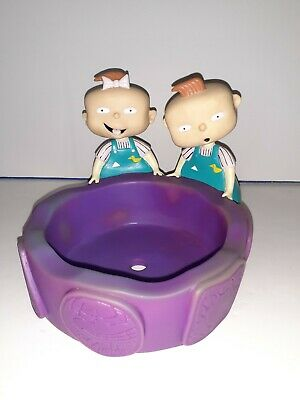 Kids Bowl Rugrats Twins Lil And Phil vintage