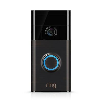 Ring VIDEO DOORBELL Motion Detection, WI-FI Connected,Dual Power VENETIAN BRONZE