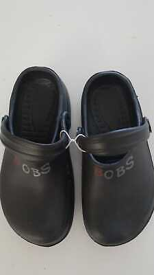 SKECHERS BOBS BLACK CROCS SLIP-ON//CLOG SHOES Youth Sizes BOYS//GIRLS NEW W//O BOX