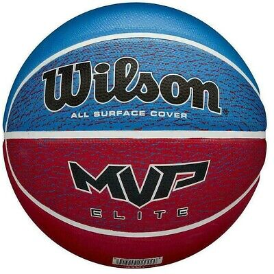 SIZE 5 or SIZE 7 Wilson Basketball - Red / Blue FREE P & P -