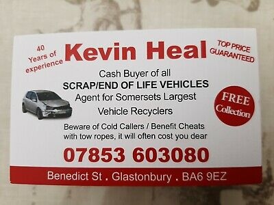 Scrap Car Removal Service In Bristol, We Collect And Pay Good Money For Vehicles