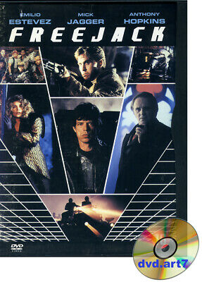 DVD : FREEJACK - film de Science-fiction - Mick Jagger - Anthony Hopkins