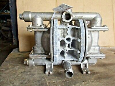 """Wilden 1"""" Stainless Diaphragm Pump, #4281229J Used"""