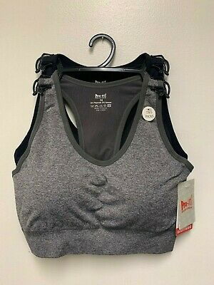 Padded 2 Pack High Impact Seamless Sports Bra ActiveWear,WorkOut, gym,yoga