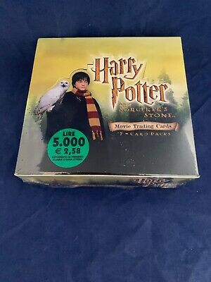 HARRY POTTER & THE SORCERERS STONE MOVIE TRADING CARDS SEALED BOX 36 Packs 2001