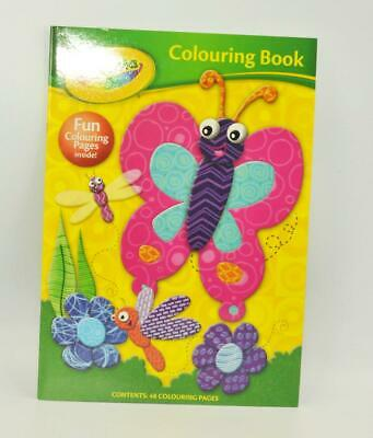 1x A4 Kids Colouring Book Fun Children's Drawing Books Birthday Gift Doodle Pad