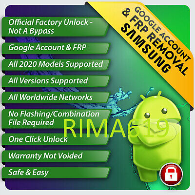 📱⚡Remote Google Account Removal SCloud Reset Unlock FRP SAMSUNG A10 A20 A3📱⚡