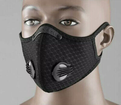 Anti Pollution Training Face Masks, Cardio High Altitude Running Free Delivery
