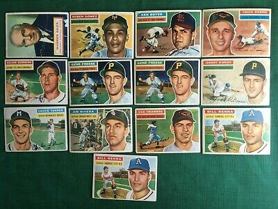 1956 Topps Baseball #1-98 Pick Cards You Want