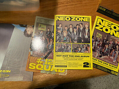 NCT 127 NEO ZONE THE 2ND ALBUM N VERSION NO PHOTOCARD no sticker