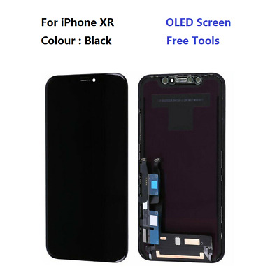 "For Apple iPhone XR LCD Display Digitizer 3D Touch Screen Replacement 6.1"" BLACK"