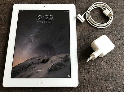 Apple iPad 2, 16 GB Wifi, Typ a1395, White/Silver