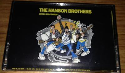 Hanson Brothers-Gross Misconduct Cassette Tape New nomeansno kbd hc punk hockey