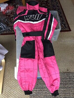 New Cub Wulfsport One Piece Motocross Quad Size Large Pink