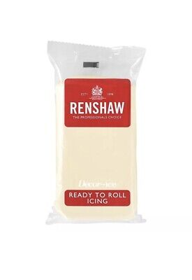 1500g Renshaw Ready To Roll Icing Fondant Cake Sugarpaste (3 X 500g packs)
