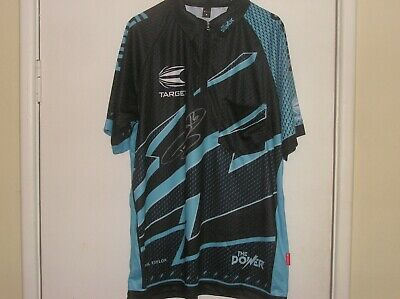 Phil 'The Power' Taylor Signed Darts Shirt