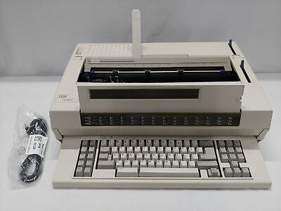 IBM Wheelwriter 3500 LCD Spell Check Electronic Typewriter 6787-008 by Lexmark