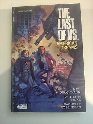 livre comic book the last of us american dream issu du jeu ps playstation 3 4