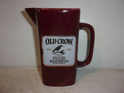 Old Crow Kentucky Straight Bourbon Whiskey Pitcher - Maroon - 1/500
