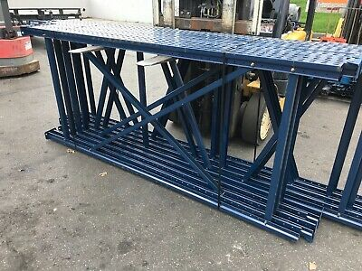 """Used Tear Drop Upright for Pallet Racking, 42""""D x 96""""H."""