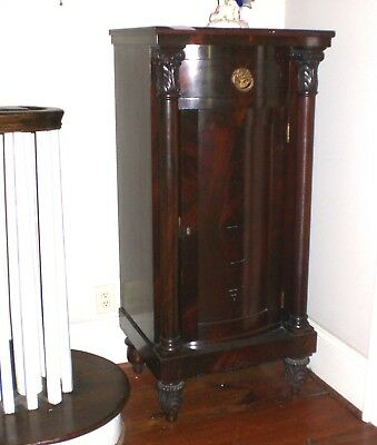Antique Side Cabinet  Night Stand  American in  French Empire Style