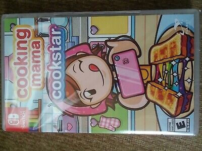 Cooking Mama: Cookstar (Switch, 2020) new ready to ship US seller