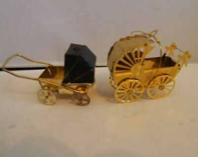 2 Baby Buggy Carriages