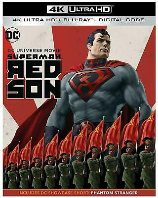 SUPERMAN: RED SON 4K Ultra HD + Blu-Ray + Dig Copy NEW Shrink Wrap w/Slip Cover