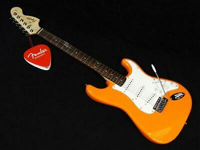 Squier Affinity Stratocaster Competition Orange Start Guitar 6 String Original