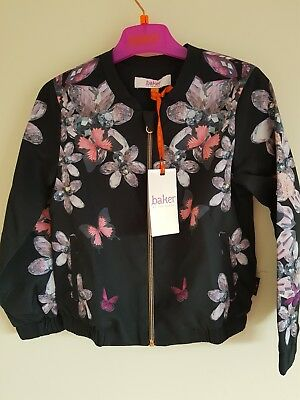 Ted Baker Girls Jewels Bomber Jacket. 4, 7 Years. Rrp £40.00