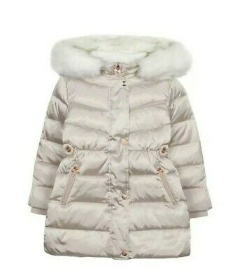 Ted BakerGirls' Ivory Padded Shower Resistant Coat.13 Years. Bnwt