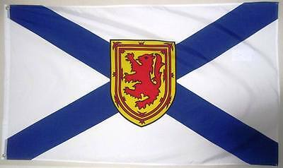 NOVA SCOTIA 3ft x 5ft BANNER/FLAG HIGH QUALITY 100% POLYESTER METAL GROMMETS
