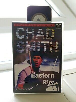 CHAD SMITH ´Eastern Rim´ Red Hot Chili Peppers (2DVD-Set) Schlagzeug Drum DVD