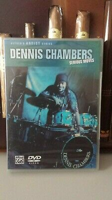 DENNIS CHAMBERS ´Serious Moves´ Schlagzeug Drum DVD